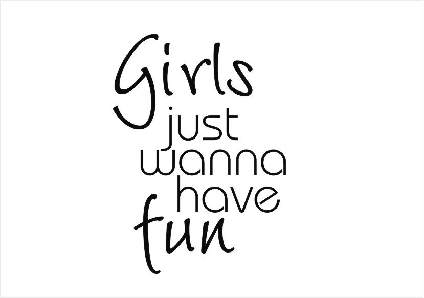 Girls just wanna have fun by feleva on DeviantArt